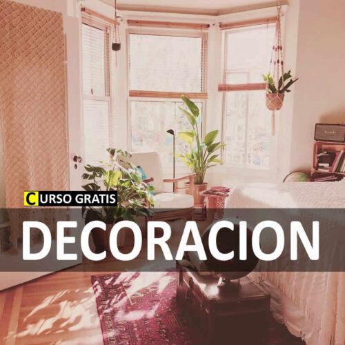 Curso de decoración online